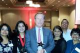 Sewa Volunteer Recognized at the Volunteer Houston Service Awards