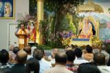 Radha Madhav Dham Welcomes  Dr. Subramanian Swamy to Austin