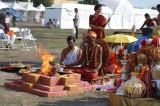 Temples Come Together to Celebrate 'Kumbh Mela USA'