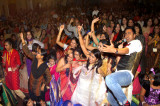 Durga Bari Celebrates Durga Puja in Style Despite Inclement Weather