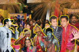 Diwali Celebrations Victorious Over the Evil Hurricane