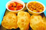 Mama's Punjabi Recipes: Puri (Deep Fried Puff Bread)