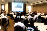 Houston Police Academy Cadets Visit India House