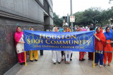 First Time Sikh Float, Marchers in Houston's Thanksgiving Parade