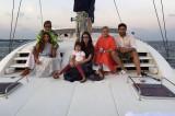 The Bachchans take up sailing as part of Abhishek Bachchan's birthday celebration in Maldives