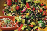 Mama's Punjabi Recipes: Lobia Di Chaat (Black Eyed Pea Snack)
