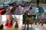 International Day of Yoga Celebration  by SEWA in Los Arcos, San Marcos