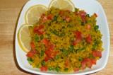 Mama's Punjabi Recipes: Chivda Gobi Mutter (Flattened  Rice Snack)