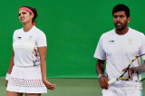 Sania Mirza-Rohan Bopanna lose in straight sets to continue India's medal duck