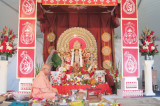 First Durga Puja of 2016 Organized by VSGH Draws Record Crowds