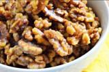 Mama's Punjabi Recipes: Gur Galef Kharot (Molasses Coated Walnuts)