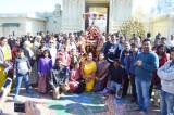 Heavenly Gates open at the Vaikunta Ekadasi Celebrations at Sri Meenakshi Temple