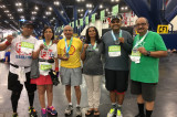 Indian Faces Among the Chevron and Aramco Marathoners