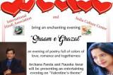 Shaam E Ghazal: An Evening of Poetry