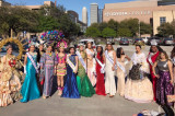 Diversity of Beauty Queens at Creole Heritage Festival