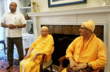 CGI Reception in Honor of Vedanta Society Swamis