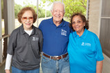 Krishnamurthy Meets Jimmy and Rosalynn Carter at Habitat