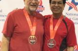 Dilip Desai Wins Silver in National Seniors TT Doubles