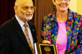 FIS Honors Judith Holt, Retiring from Houston Public Library