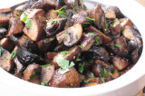 Mama's Punjabi Recipes: Portobello Khumban Appetizer (Sauteed Portobello Mushroom)