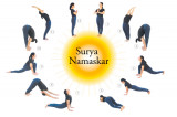 What is the Significance of the Yoga Poses in Surya Namaskar?
