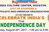 India's 71st Independence Day on August 20