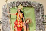 Durga Puja Illuminates with Kusum Sharma as Goddess Durga in the Mahishasur MardiniShow