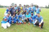 TCC Taped Ball Tournament Fall 2017: R2CC Winners, Cougars Runners up