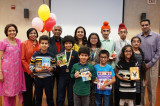 Children in Houston Awarded for Helping Children in India