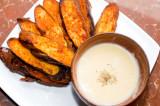 Baingan De Pakore (Fried Eggplant Fritters)