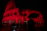 Rome's Colosseum turned red to protest Pakistan blasphemy law