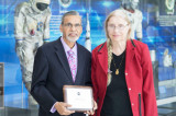 NASA Honors  Dr. Kamlesh Lulla for Thirty Years of Distinguished Service at Johnson Space Center