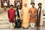 Sri Ramakrishna's 182nd Birth Anniversary Celebrated at VSGH