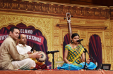 """Kruthi Bhat of Texas, Youngest Recipient of the """"Kala Rathna"""" Title"""