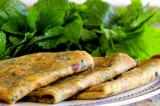 Mama's Punjabi Recipes: Pudine da Parantha (Mint Parantha)