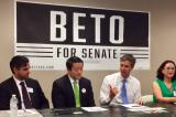 Congressman Beto O'Rourke Meets Asian Leaders for Support vs. Cruz