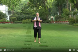 PM Narendra Modi shares Video of him doing workout #HumFitTohIndiaFit .