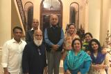 First Servitors of Lord Jagannatha, Puri Gajapati Maharaja and Maharani, Visit Houston