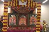 Deva Snana Puja of the Lords  at the Char Dham Temple