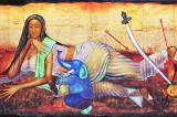 Artist Anjolie Ela Menon conferred the Kalidas Award
