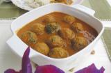 Mama's Punjabi Recipes: Bhaen De Kofte (Curried Lotus Root Balls)