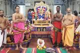 Aadi Sukravara Deepa Pooja at  Sri Meenakshi Temple