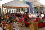 Maha Homam for the Supreme Goddess at Sri Meenakshi Temple