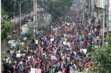 Protest in Bangladesh turns violent; hundreds of students and dozens of journalists attacked
