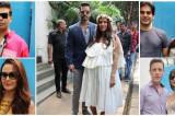 Neha Dhupia's baby shower: Karan Johar, Preity Zinta, Ileana D'Cruz and others spotted at the event