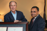 Muhammad Saeed Sheikh Receives the United States President's Lifetime Achievement Award