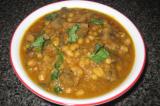 Mama's Punjabi Recipes- Soya Bean Te Khumban di Sabzi  (SOYA BEAN & SAUTEED MUSHROOMS)