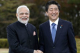 PM Modi on two-day visit to Japan, holds informal talks with Shinzo Abe