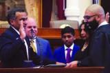 Sanjay Rambhadran Sworn in as Texas Lyceum President