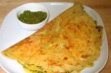 Mama's Punjabi Recipes: Besan ka Pooda  (Chickpea Flour Pancakes)
